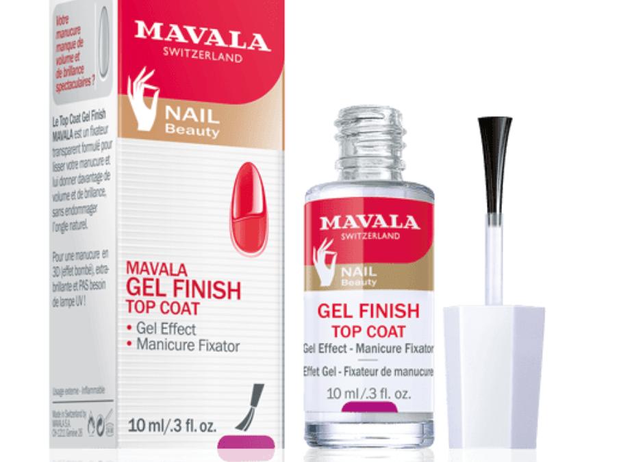 Best In Beauty: Mavala Gel Finish Top Coat ⭐⭐⭐⭐⭐