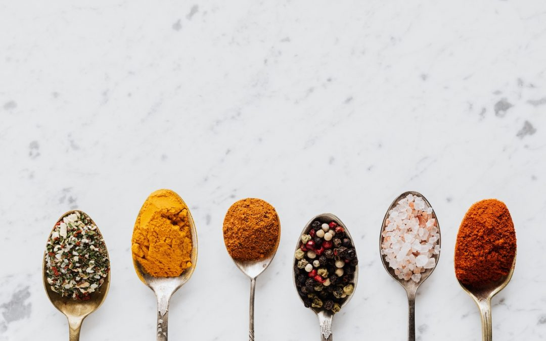 3 Fabulous Herbs and Spices For Flavour & Weight Loss